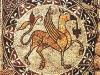 47 - Cattedrale di Bitonto - Mosaico Grifone - Sottocorpo