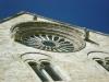 01 - Cattedrale di Bitonto - Rosone sul fianco meridionale