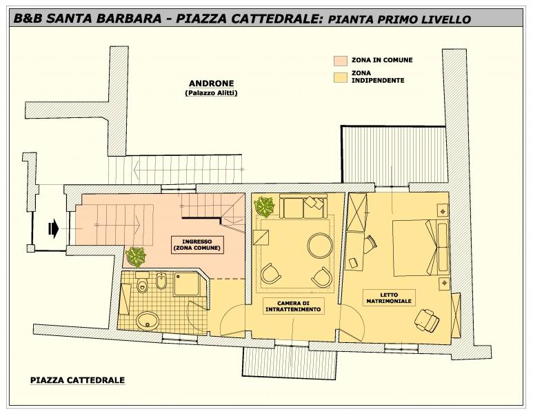 S barbara cattedrale santa barbara for Planimetrie del bagno