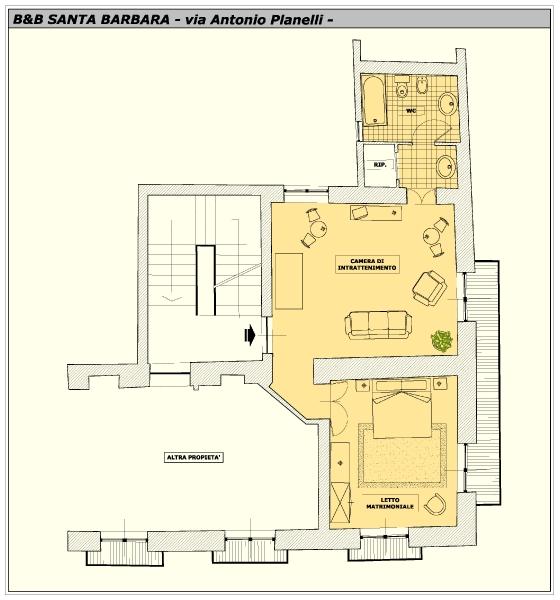 Santa barbara santa barbara for Planimetrie dell appartamento del garage di una camera da letto